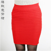 New Come Hot Sale Office&Sexy Stlye Women's Mini FoldSkirt Solid Thin Skirts High Elasticity Many Colors Can Be Choosed 1pc/Lot