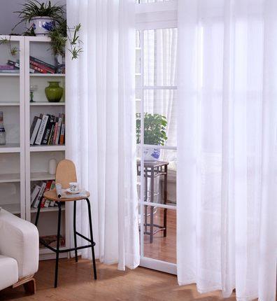 Vergelijk prijzen op white linen curtains online winkelen kopen lage prijs white linen - Gordijnen voor de woonkamer ...