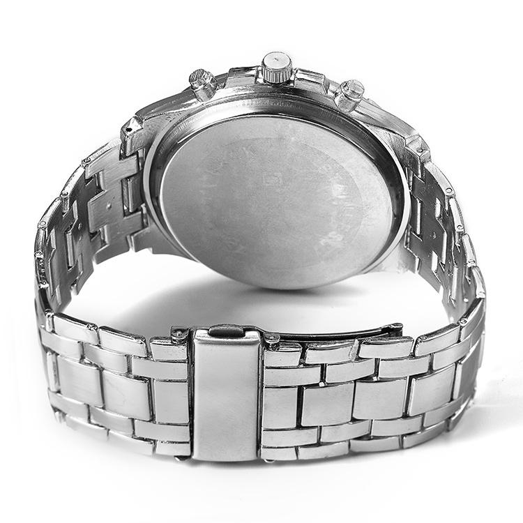 Relogio словаре 2015 Брендовые Мужские часы моды & бизнес случайные полный стали спортивные часы наручные мужские кварцевые часы Япония