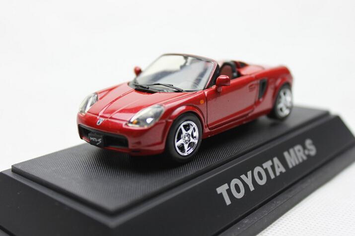 EBBRO 1/43 TOYOTA MR-S Die-casts metal car models(China (Mainland))