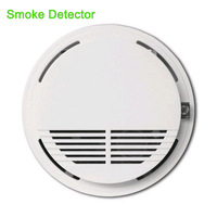 2pcs Sensitive Photoelectric Wireless Smoke Detector Home Security Fire Alarm Sensor System Monitor