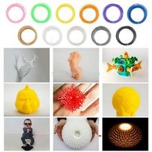 1.75mm 3d printer filaments ABS Plastic Rubber Consumables Material Makerbot/RepRap /UP/Mendel 50g 11 Colors  Printer Supplies