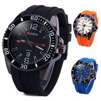 2015 Fashion Relogio Masculino Black watch men luxury famous brand Quartz  Military Army Clock Male Casual Reloj Wristwatch