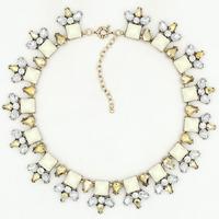 2015 New JC design wholesale women fashion necklace choker bib statement Necklace