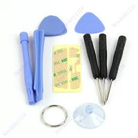9 in 1 Repair Tools Kit Open Pry Tool Kit Screwdriver Set For IPhone 6 Plus 5S 5 4 4S 4G iPod