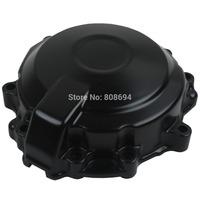 Side Black Stator Engine Cover For Kawasaki Ninja ZX6R ZX-6R 2007-2008 Crankcase