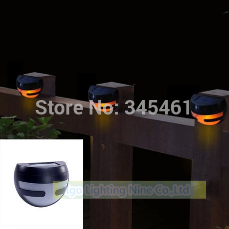 3pcs/lot New 2Leds Solar Light White/Warm white With 1*AA 1200mAhNi-MH battery Solar Wall Lamp IP44 Waterproof Garden Lights(China (Mainland))