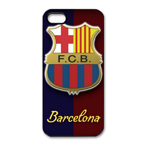 Fantastic Logo Football Team FC Barcelona Slim Hard Back Case Protector for iphone 5/iphone 5S(China (Mainland))