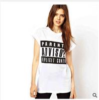 Europe style women print cotton tees 2015 new fashion summer short sleeve slim o-neck show thin sport wear women t shirt F0957