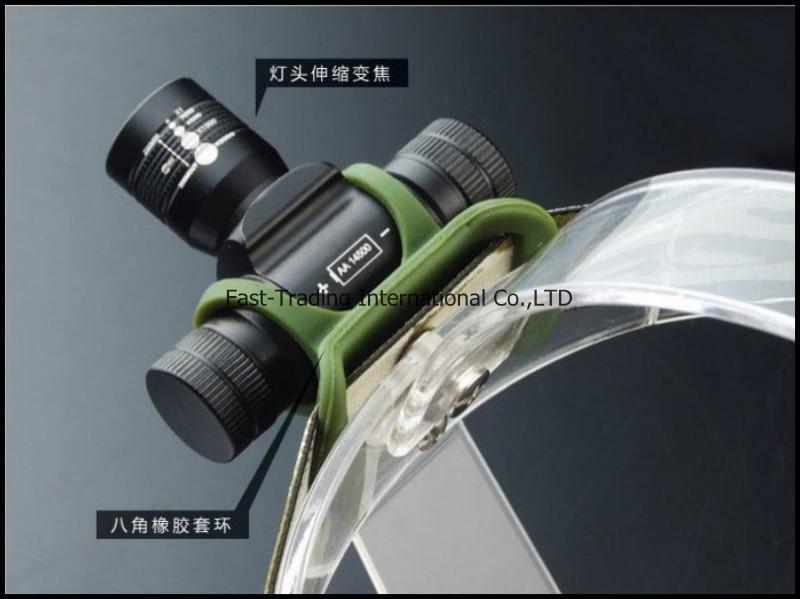 MINI Army Headlamp CREE Q5 LED 160Lumen AA/14500 Battery Zoomable Headlight Bike Bicycle Light headlamp(China (Mainland))