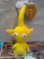 Free Shipping 15cm Yellow Pikmin Flower Plush Toy Lovely Gift For Kids opp bag