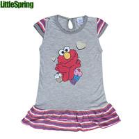 Children's clothing girls cartoon clothes girl dresses Summer Dress sleeveless dress kids clothing