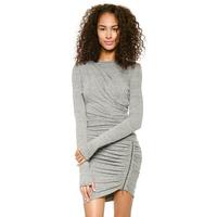 Xuanlin brand sexy Fold women dress zipper patchwork slim Package hip Mini bohemian ladies knitting dress J1098