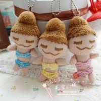 Free shipping 3pcs/lot Maison deReefur Rinkachan Dolls keychains bag hangers cute Japan dolls plush toys bikini dolls girls gift
