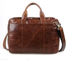 7092-2B jmd Vintage hommes de Style Brown Laptop Bag sac à main porte - documents d'affaires sac d'ordinateur portable livraison gratuite(China (Mainland))