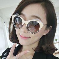 2015 New Women Sunglasses Retro Metal Legs Cat Eye Sun glasses UV400 Protection Shades EyeWear Goggles Oculos De Sol