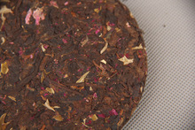 100g 2pcs 10years old Chinese yunnan rose pu er tea health care ripe Puer tea weight