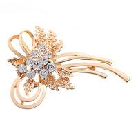 Min. order is 9 usd (can mix) New Arrival Elegant Brooch Rhinestone Exquisite Bride Brooch Pin Women Wedding Brooch