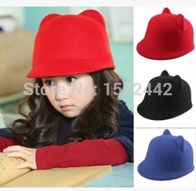 шапка для мальчиков qiaran fedora 10pcs lot fedoras Шапка для мальчиков GEAD 2015 100% Fedora GEA1122