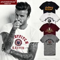 Mens t shirts fashion Brand Aeronautica Militare Design Casual Tshirt Tops Tees Short-sleeve top Quality 100% Cotton