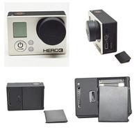 For GoPro HD Hero 3 Camera Lens Cap+Battery Door Replacement + Side Door Cover