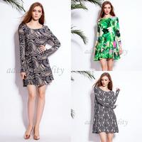 free shipping 2015 new design autumn winter women dress with long sleeve fashion loose cotton women dresses sexy lady XXXL