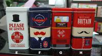 free shipping  new London souvenirs UK tea box candy box metal storage box bins marvelous tin box