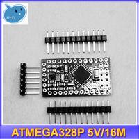 1pcs New Pro Mini ATMEGA328P 5V/16M  for Arduino Compatible for Nano Replace ATmega128