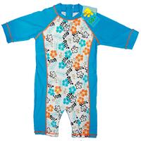New free shipping children 4pcs/lot flowers printing UPF 50+ beach rash guards, boys swimming wear