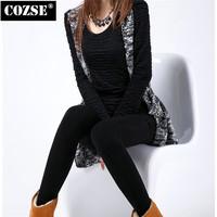 2014 New Winter  Fshion Soild  Slim Size Women Leggings European Style  Free Shipping L3119