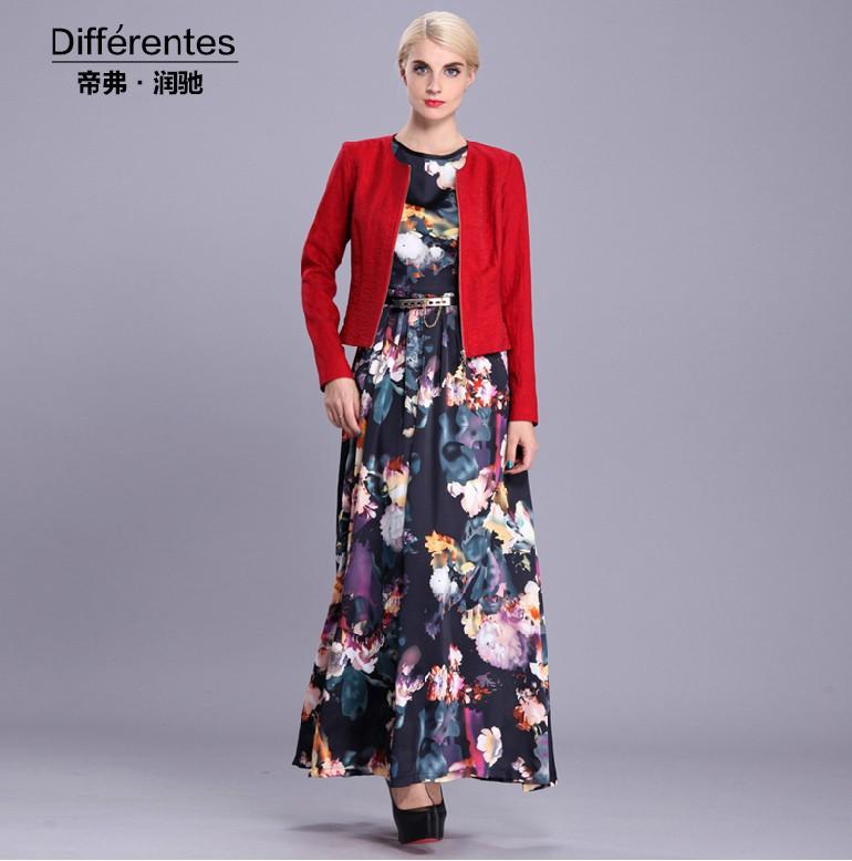 Short n long dress 8866