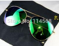 2015 Free shipping New Brand Designer VB Aviator Sunglasses men women Eye Glasses wear victoria beckham Large Coating lenses