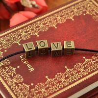1000pcs diy Metal Letters spacer beads alphabet beading necklace vintage bracelet jewelry beading big hole beads Free Shipping