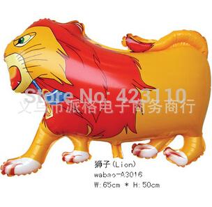 Leão de passeio do balão do partido da selva(China (Mainland))