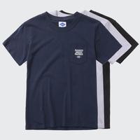 Mens Summer Cotton t-shirt Tee Short Sleeve Shirt Tee Tops for Man Black White Blue