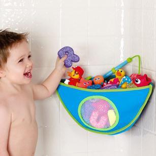 Hot-Child bathroom child toy storage bag baby bath toys waterproof storage bag triangle bag free shipping 0233(China (Mainland))