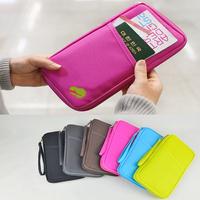 Fashion New Travel Passport Credit ID Card Cash Holder Organizer Wallet Purse Case Bag 63296-63302