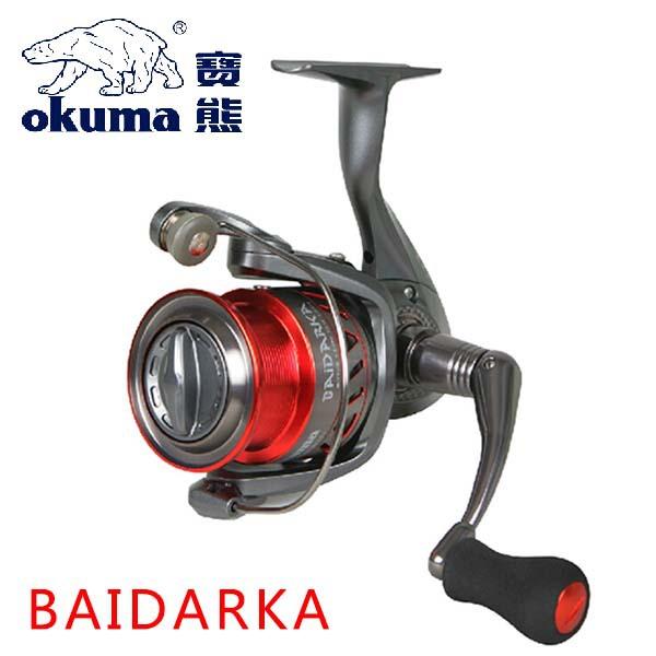 Okuma Brand BAIDARKA BK-2000M Shallow Spool Fresh Water Spinning Fishing Reel 7+1BB 5.0:1 Carp Fishing Reel for Feeder Fishing(China (Mainland))