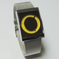 2015 Fashion casual sports square steel student watch Men's women's Quartz full mesh steel watch