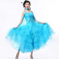 Ballroom standard dance dress,Ballroom dance competition dress,Women,girl,adult dance dress ballroom waltz dress flamenco