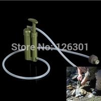 Portable Plastic Ceramic Water Filter Purifier Outdoor Survival Wilderness Survival
