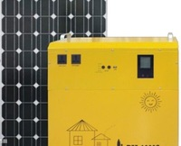 700W off grid portable solar system 1pc 200w solar panel 700w PURE sine wave solar inverter combined 12v 20a controller