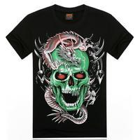 2015 new style men's Xia t shirt 3dt shirt t shirt printing to map custom logo printing t