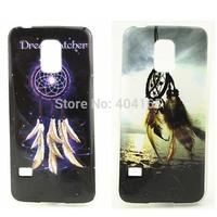 30pcs/lot High Quality Dream Catcher TPU Soft Skin Case Cover For Samsung Galaxy S5 Mini, Free Shipping