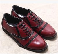 Free shipping Bullock Oxford flat bottom women's shoes