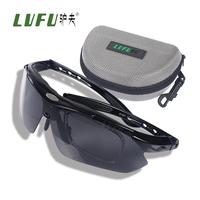 Donkey outdoor anti-uv polarized mirror hd fishing glasses set blu ray free shipping