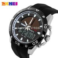 Free shipping 2015 fashion casual Men's watch Waterproof Luminous Outdoor Solar Motion Electronic Wristwatches 3 colors --fds