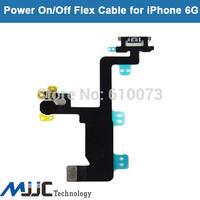 "MJJC Original Power On Off Button Flex Cable Ribbon for iPhone 6 4.7"" Replacement Parts 5PCS/Lot"