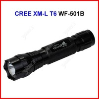 ( 10 pcs/lot ) UltraFire WF-501B LED Torch 1200 Lumens CREE XM-L T6 LED Waterproof Bicycle Camp Flashlight Lamp 5 Modes