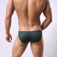 Underwearworkshop male sexy lace mesh cool funny sexy nylon underwear brief  S M L XL